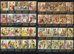 11 Kaarten Met Sprookjes Uitgebeeld  - Zie Meerdere Afbeeldingen - Vertellingen, Fabels & Legenden