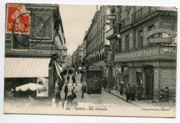 44 NANTES Rue D'Orléans Pharmacie De Paris écrite Octob 1914  Timb  No 365 Artaud  D14 2019 - Nantes
