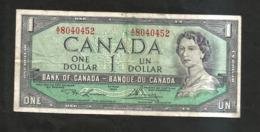 Banque Du CANADA / Bank Of CANADA - One DOLLAR (OTTAWA 1954) - Canada