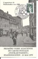 """67 - Pfaffenhoffen - 1ère Foire Alsacienne De Cartes Postales """"Postkartemessti"""" - France"""