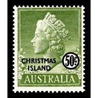 1958 Christmas Island - Christmas Island