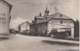AIN - 5 - JURA TOURISME - Col De La Faucille - Les Hôtels Et Le Mont Blanc - Non Classés