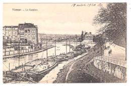 Péniches à Namur (Belgique) La Sambre - Houseboats