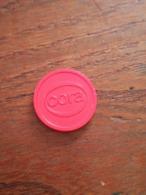 Jeton De Caddie CORA - Trolley Token/Shopping Trolley Chip