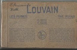 Leuven - Louvain - Les Ruines, The Ruins, De Ruines Boekje Met 10 Zichtkaarten Reeks 2 - Leuven