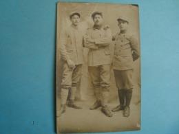 Militaire - Carte Photo - Militaires à Identifier - Regiments