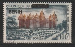 BENIN - TIMBRE SURCHARGE - N° 589  Obl (1994) - Benin – Dahomey (1960-...)