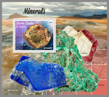 SIERRA LEONE 2019 MNH Minerals Mineralien Mineraux S/S - OFFICIAL ISSUE - DH1942 - Minerales