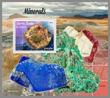 SIERRA LEONE 2019 MNH Minerals Mineralien Mineraux S/S - OFFICIAL ISSUE - DH1942 - Mineralien