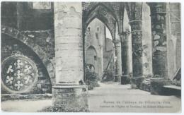 """Abbaye De Villers - Intérieur De L'Eglise Et Tombeau De Gobert D'Asprémont - Ed. Spec. """"l'Hôtel Des Ruines"""" -1908 - Villers-la-Ville"""
