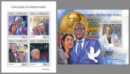 MOZAMBIQUE 2019 MNH Nobel Prize Winners 2018 Nobelpreisträger Nobel Prix M/S+S/S - OFFICIAL ISSUE - DH1942 - Nobel Prize Laureates