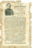 Herdenking Aan Damianus De Veuster - Pater Damiaan - Overleden 1889. Werd Verkocht Tot Profijt Van Het Damianus Gesticht - Esquela