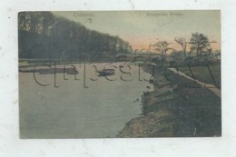 Clitheroe (Royaume-Uni, Lancashire) : The Brungerley  Bridge In 1910 (lively) PF. - Other