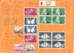 Schweiz Suisse 1948 VOL SPÉCIAL LATÉCOÈRE 631 GENÈVE > ANTILLES Par Air France O GENÈVE 14.VI.48 POSTE AÉRIENNE - First Flight Covers
