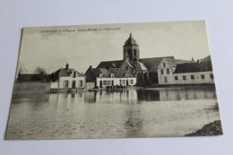 Etaples - L'église Saint Michel Et L'abreuvoir - Etaples