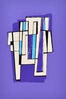 Frank Magda (1914-1997): Kompozíció 1989. Szitanyomat, Papír, Jelzett, 39,5×27,5 Cm - Other Collections