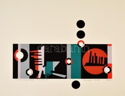 Joseph Kádár (1936-2019): Hommage Bartók. Szitanyomat, Papír, Jelzett, Számozott (98/100), 45×58 Cm - Other Collections