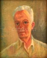 Kutassy Imre Ferenc (1897-1984): Önportré. Olaj, Falemez, Jelzett, Keretben, 50×41 Cm - Other Collections