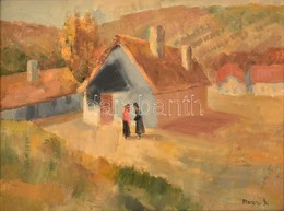 Rozs János (1901-1987): Tere-fere. Olaj, Vászon, Jelzett, Keretben, 60×80 Cm - Other Collections