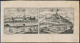 1686 Id. Gaspar Bouttats (c. 1640-1695/1696) - Jacob Peeters (c. 1655-c.1721): Nembti&Sengrot. Lenti és Zalaszentgrót Lá - Engravings