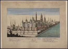 Istanbul (Konstantinopel) Yedikule, 'Prospect Von Den Sieben Thürmen In Constaninopel.' / Turkey By Johann Martin Will I - Engravings