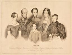 1846 Steinrucker, Leopold (1801-1879): József (1776-1847) Császári Királyi Ausztriai Főherceg Magyarország Fél Százados  - Engravings