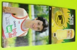 INCOMPLETE Matchbook , Matchbox ,  Some Missing Matches , Rosa Mota , Athletics , Marathon ,  Cooking Oil AAA , Três Ás - Boites D'allumettes