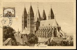 48228 Belgium, Maximum 1934 Tournay  Cattedrale  Cathedral  -architecture - Maximum Cards