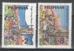 Philippines - YT 1963-1964 ** MNH - 1992 - Lutte Contre La Drogue - Filipinas