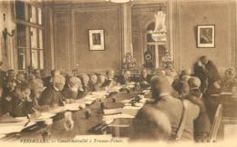 VERSAILLES - Conseil Interallié à Trianon Palace. - Versailles
