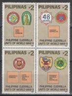 Philippines - YT 1954-1957 ** MNH - 1992 - WWII - Filipinas
