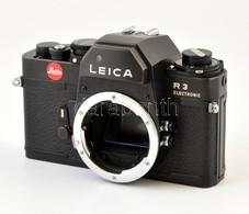 Cca 1976 Leitz Leica R3 Electronic Filmes SLR Váz, Nagyon Szép állapotban / Vintage Leica R3 SLR Camera Body, In Very Go - Cameras