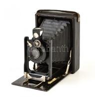 Cca 1920 Vormbruck Feca 9x12 Cm-es Síkfilmes Fényképezőgép Rodenstock Trinar-Anastigmat 13,5 Cm F/6,3 Objektívvel, Feca  - Cameras