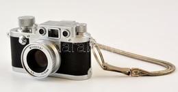Minox Leica IIIf. Miniatűr Filmes Fényképezőgép, Filmmel, Eredeti Dobozában. / Minox Leica IIIf Miniature Camera With Fi - Cameras