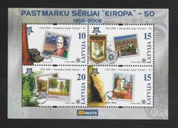 LETTONIE - LATVIJA - 2006 - EUROPA - 50° ANNIVERSAIRE - Lettland