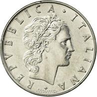Monnaie, Italie, 50 Lire, 1973, Rome, TB+, Stainless Steel, KM:95.1 - 1946-… : República