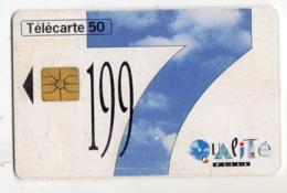 FRANCE EN1524 EDF Qualite 97 50U Date 12/96 Tirage 10450 Ex - Frankreich