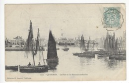 1022- QUIBERON.- Le Port Et Les Bateaux Sardiniers - Quiberon