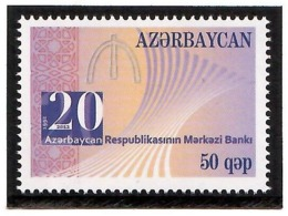 Azerbaijan 2012 . Central Bank-20 Years. 1v: 50.  Michel # 913 - Azerbaiján