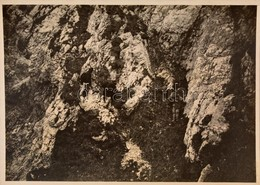 Cca 1910 Királykő-hegység, Felmászás A Keleti Oldalon, Erdélyi Mór Felvétele, Hátulján Feliratozva, 11,5×16 Cm / Cca 191 - Other Collections