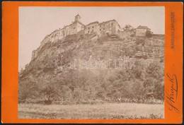 1895 Maribor Vára, Szlovénia, Keményhátú Fotó Heinrich Krappek Műterméből, Szép állapotban, 11×16 Cm / Maribor, Slovenia - Other Collections