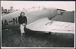 Cca 1938 Siófoki Reptéren Készült Vintage Fotó, 8,5x13 Cm - Other Collections