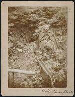 Cca 1900 Tisza-forrás Az Ocula-havason, Keményhátú Fotó, 10x13 Cm - Other Collections