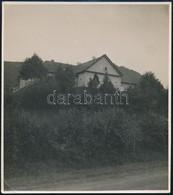 Cca 1930-1940 Visegrád, Kúria, Fotó, Hátulján Feliratozva, 13,5×12 Cm - Other Collections
