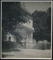 Cca 1940 Nagykovácsi, Teleki-Tisza Kastély, Fotó, Hátulján Feliratozva, 14×12 Cm - Other Collections