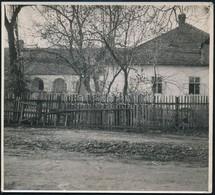 Cca 1940 Pomáz, Mandics-kúria, Fotó, Hátulján Feliratozva, 12,5×14 Cm - Other Collections