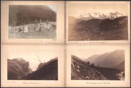 Cca 1884 Déchy Mór Kaukázusi Expedícióján Készült, Később 'A Kaukázus' C. Kötetben (1905/1907) Publikált Felvételek, 11  - Other Collections