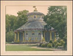 Cca 1930 Kézzel Színezett Vintage épületfotó, Feliratozva, 17x23 Cm - Other Collections