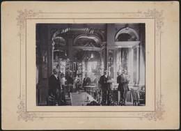 Kolozsvár, New York Kávéház, Fotó, Kartonra Ragasztva, Hátulján Feliratozva, 11,5×15,5 Cm / Cluj-Napoca, Photo - Other Collections