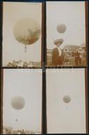 1909 A Frankfurti Internationale Luftschiffart Austellung (Nemzetközi Légijármű Kiállítás) Keretében Rendezett Hőlégball - Other Collections